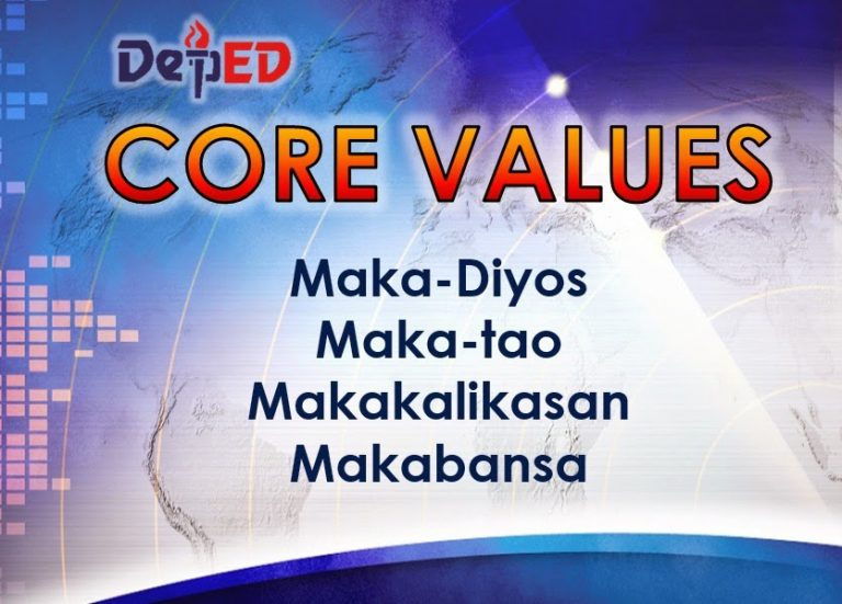 DepEd Core Values