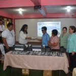 Pasay City Government turned over 3 Embossers and white canes to PNSB