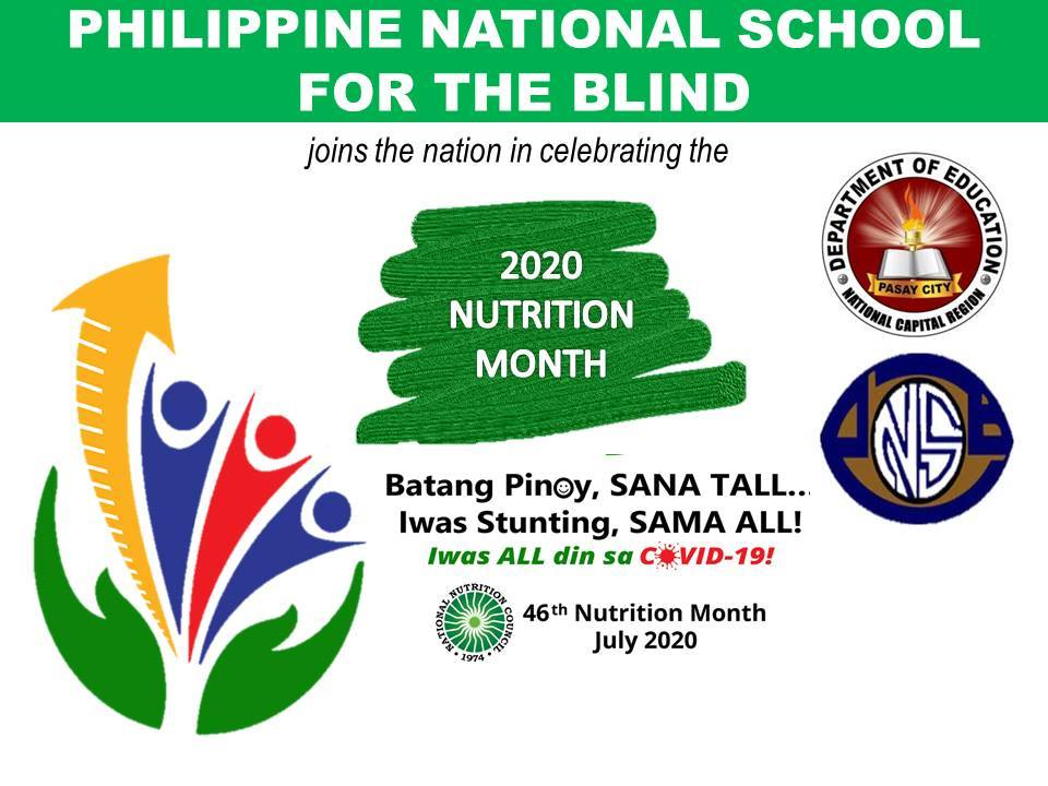 2020 NUTRITION MONTH