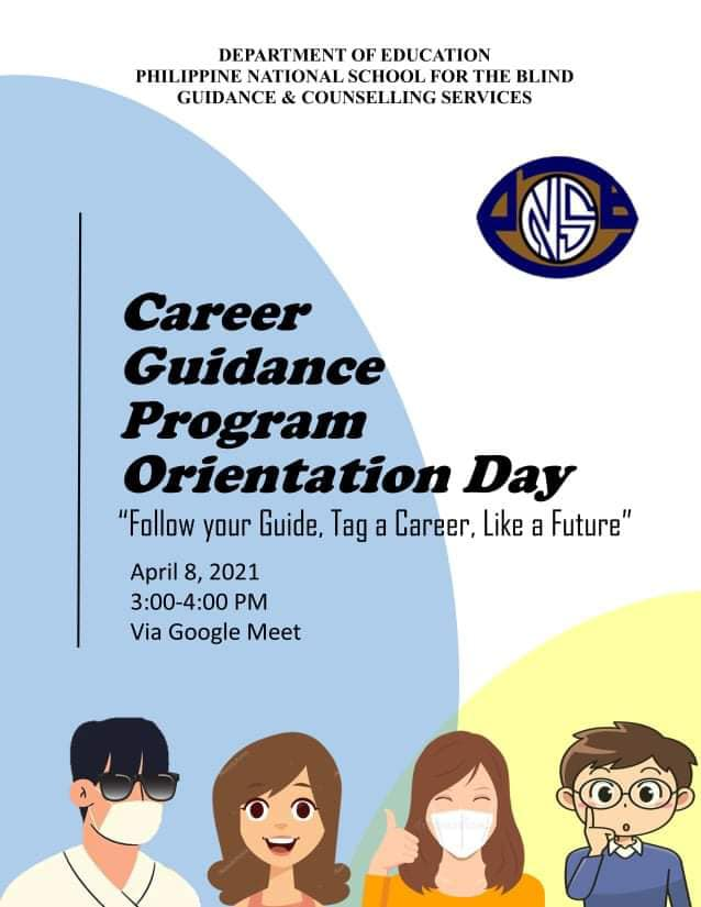 Career Guidance 2021 with the Theme: Follow your guide, tap a career like your future