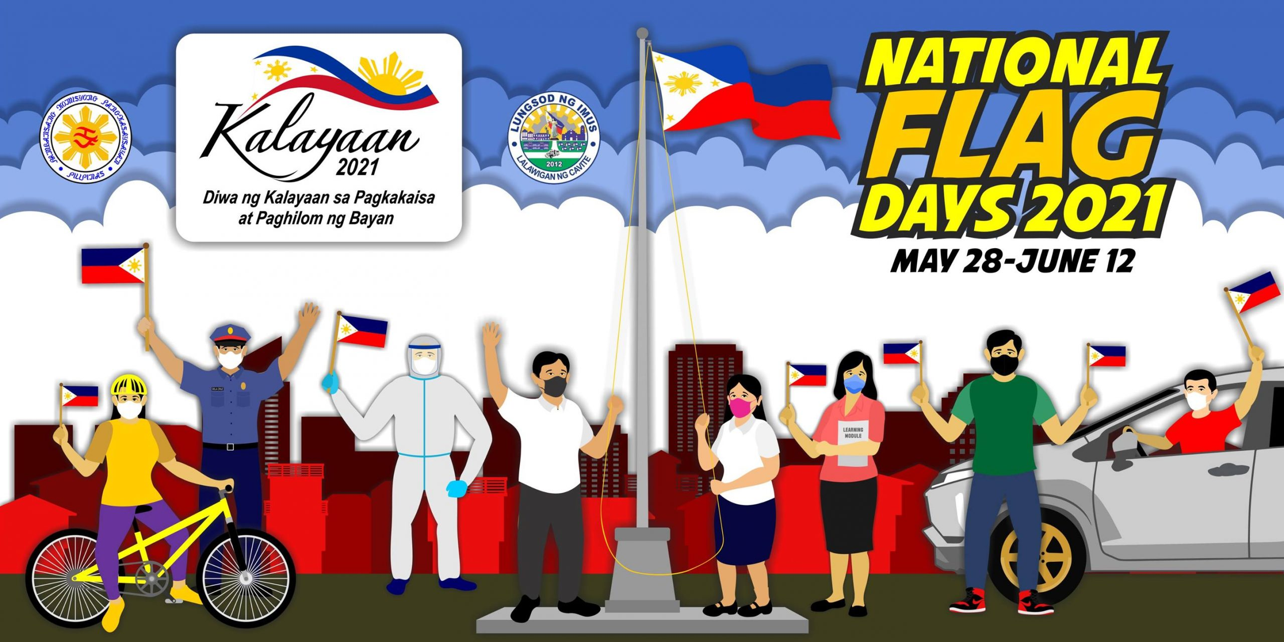 Let us celebrate National Flag Day together starting may 28 to June 12, 2021