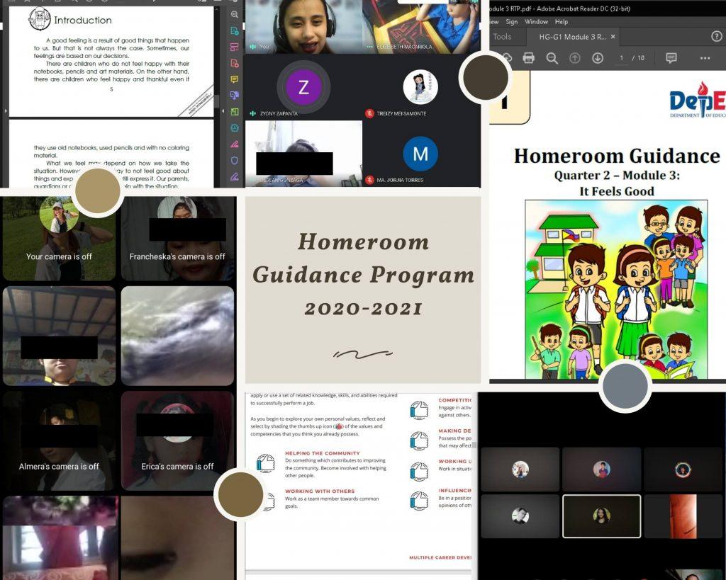 Provision of homeroom guidance